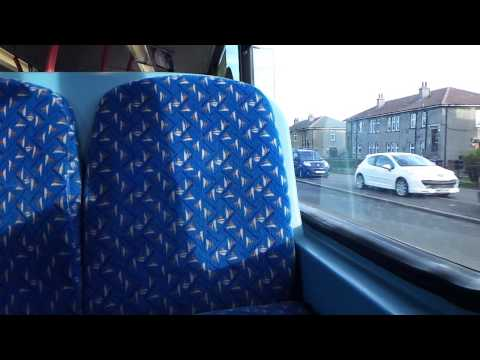 Route 29 National Express Dundee Volvo B7TL Wright Eclipse Gemini 7018 (SP54 CHD)