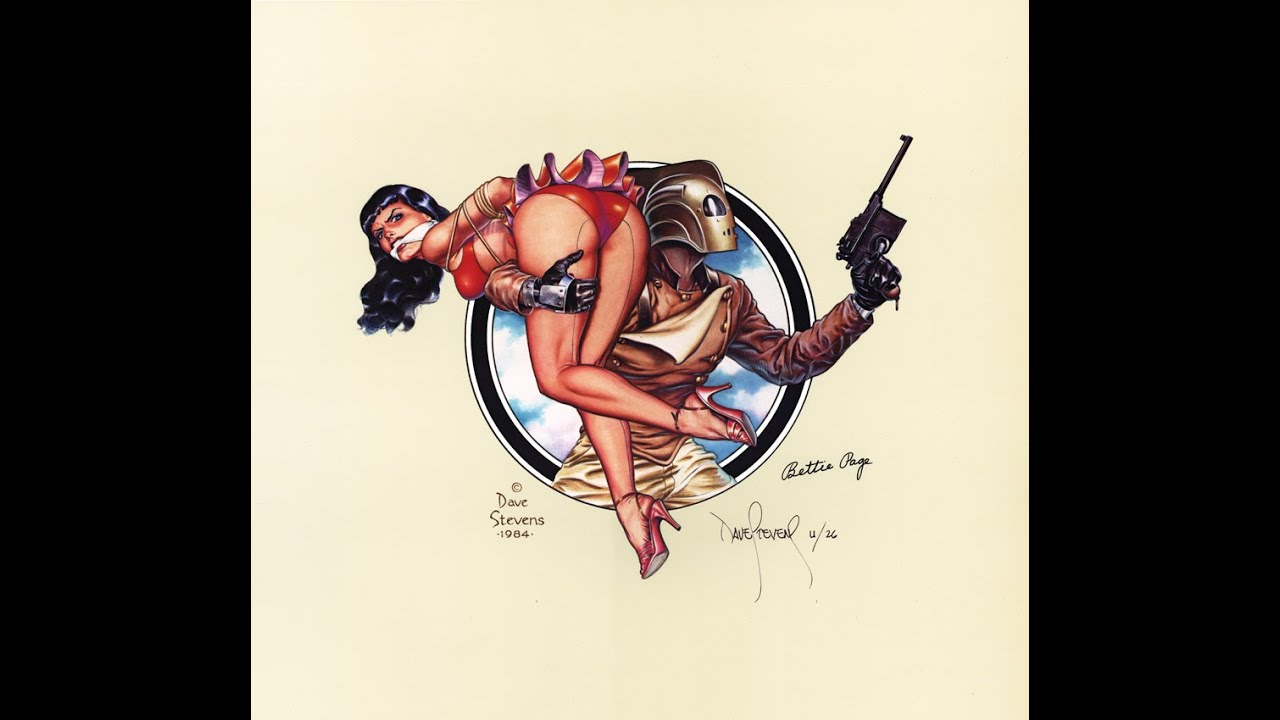 Bettie Page the Rocketeer HD - YouTube