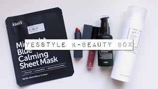 YesStyle K-Beauty Box | January 2019 | AD