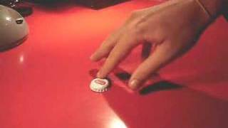 Bottle Cap Crush Trick Awesome Trick Thumbnail