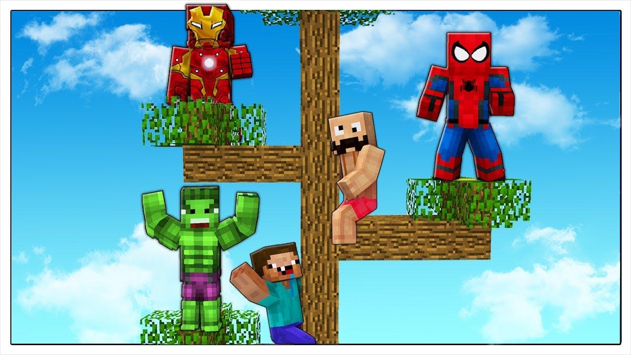 Non cadere dalla casa sull albero dei supereroi minecraft ita youtube - Casa sull albero minecraft ...