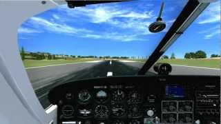 Flying around caribbean(FSX)