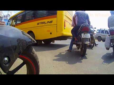 PUNE NAGAR ROAD | Drive Through Chandan nagar to Kesnand via avhalwadi  |Wagholi