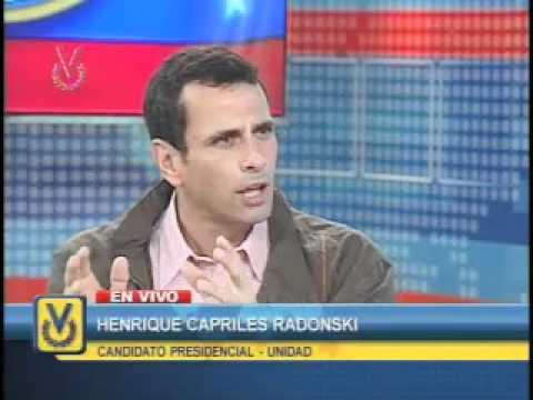 Entrevista Henrique Capriles Radonski (Parte 2)