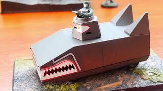 Розпакування танка Дракон танк доктора АЛЕ Dragon Tank Dr NO