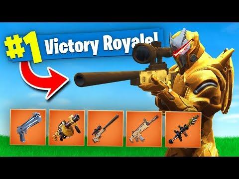 FORTNITE BUT EVERYTHING IS GOLD! Fortnite Battle Royale (Solid Gold V2)