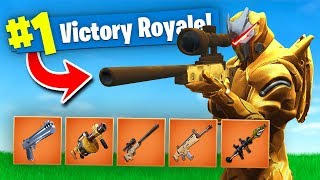 FORTNITE BUT EVERYTHING IS GOLD! Fortnite Battle Royale (Solid Gold V2)