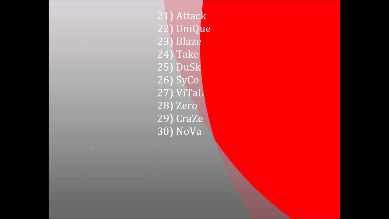 50 good clan names ps3 xbox doovi
