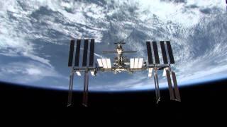 Shuttle Atlantis Post-Undocking STS-132 Flyaround of the International Space Station