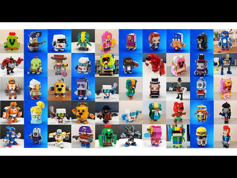 LEGO BRAWL STARS COMPILATIONS TOP BEAUTIFUL!