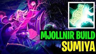 Mjollnir Build - Sumiya Invoker 7.18 - Dota 2