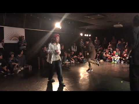 SORA Vs KO-TA〈TALKIN' HOUSE〉KIDS SIDE SEMI FINAL