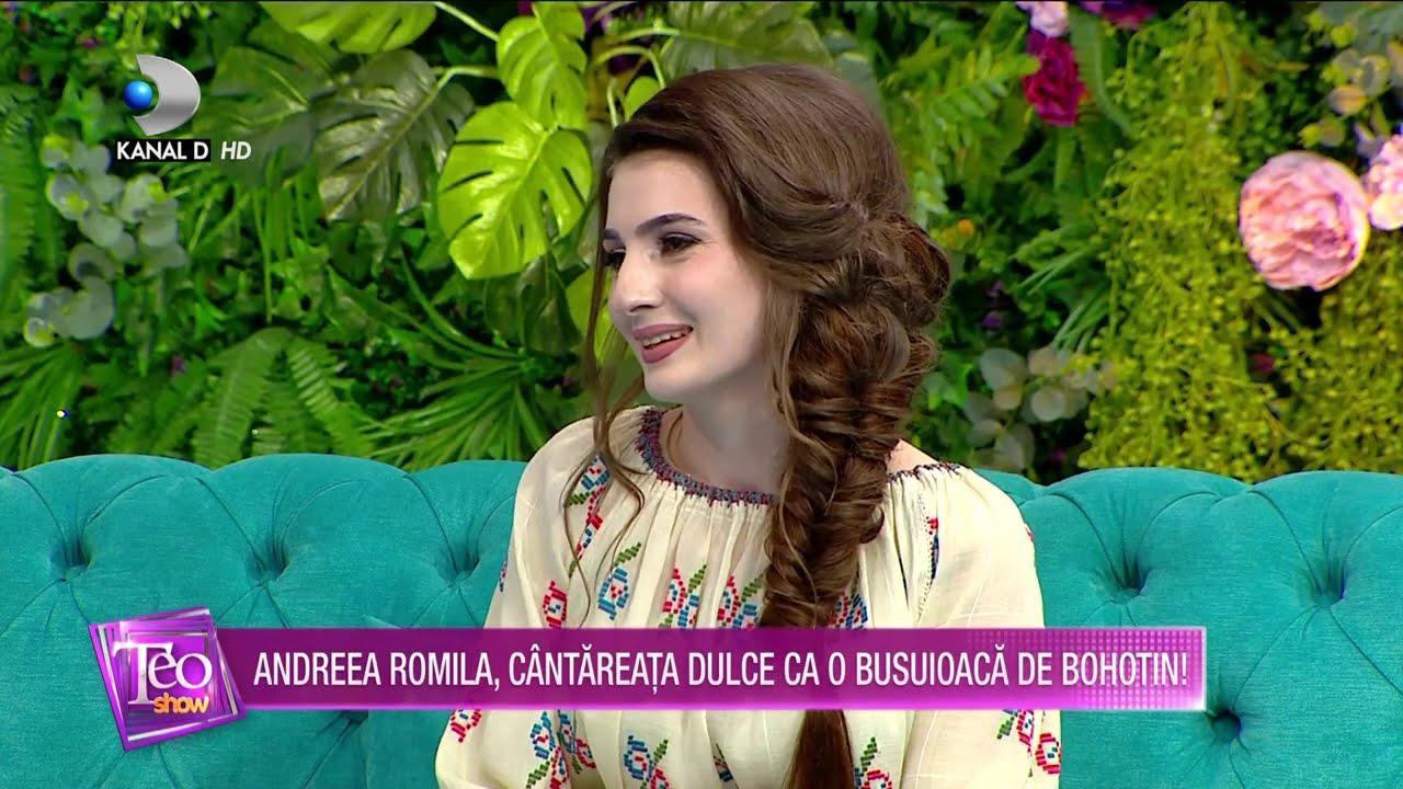 Teo Show (20.11.2020) - Andreea Romila, cantareata dulce ca o