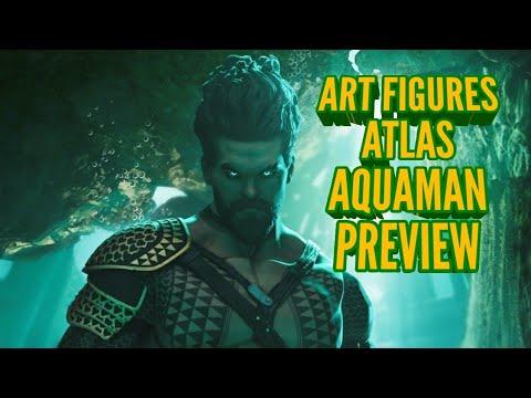 Art Figures Atlas Aquaman Figure Preview