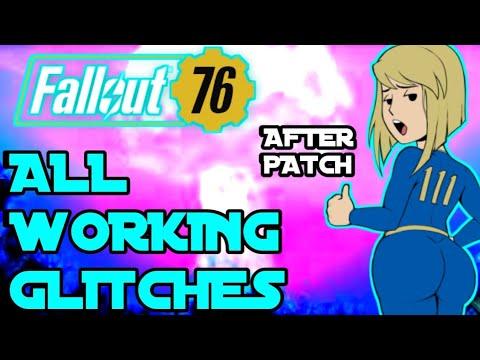 Fallout 76: All working glitches after patch! Xp glitch! Duplication  glitch! Caps glitch!