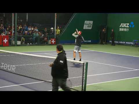 Roger Federer Shanghai 2017 Practice