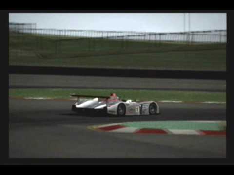 Gran Turismo PS License S Audi R Race Car - Audi r8 race car 01 gt6