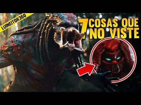 The Predator Official Trailer - Easter Eggs, Referencias y cosas que NO Viste! Luineitor