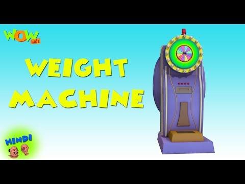Weight Machine - Motu Patlu in Hindi - 3D Animation Cartoon for Kids -As seen on Nickelodeon