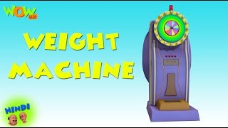 Weight Machine - Motu Patlu in Hindi - 3D Animation Cartoon for Kids -As seen on Nickelodeon