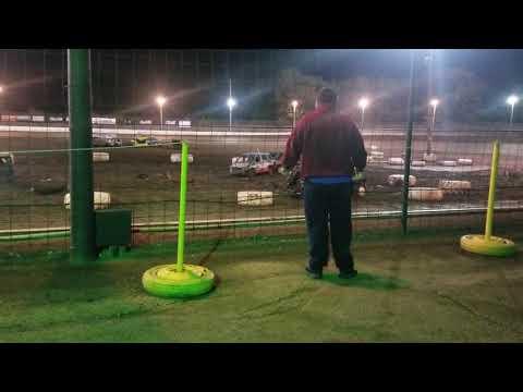 Sycamore speedway 2018 Van demolition derby