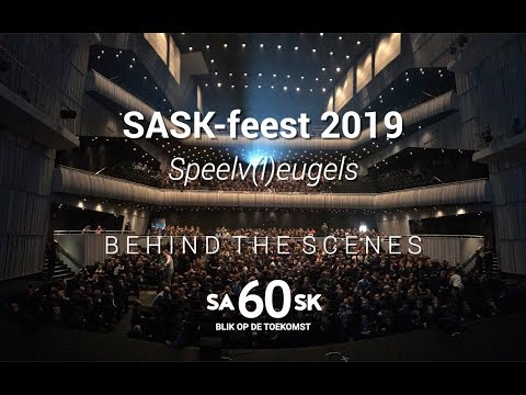 SASK-feest 2019: behind the scenes