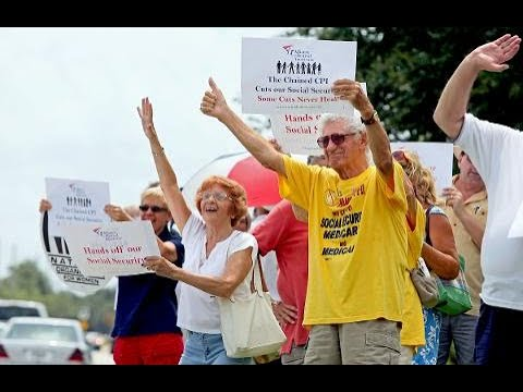 Palm Beach County seniors protest proposed Social Security c