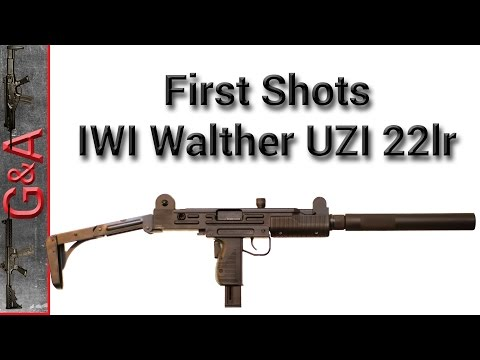 First Shots: IWI Walther UZI 22lr - YouTube