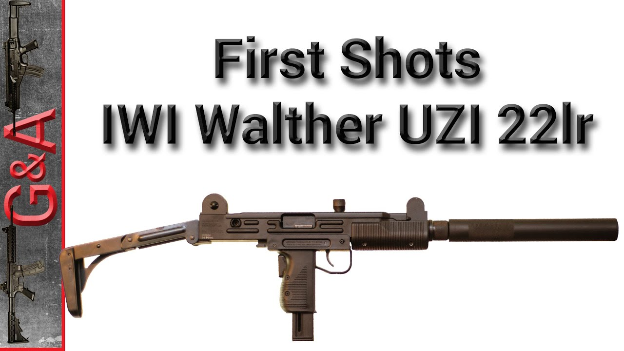 First Shots: IWI Walther UZI 22lr