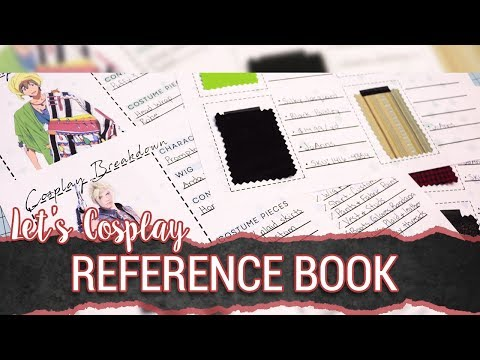 Let's Cosplay! : Cosplay Reference Book & Cosplay Amino