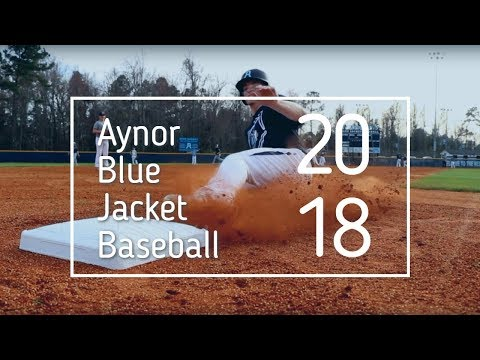 2018 Aynor Blue Jacket Baseball