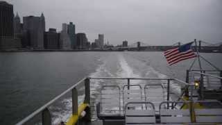 NYC Water Taxi to Red Hook, Brooklyn