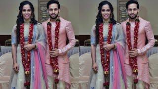 Saina Nehwal just merried with parupalli kashyap latest Pics video Lifestyle story