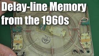 Old computer tech:  delay-line memory