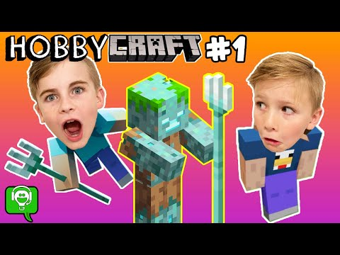 HobbyCraft First Night in Minecraft Survival