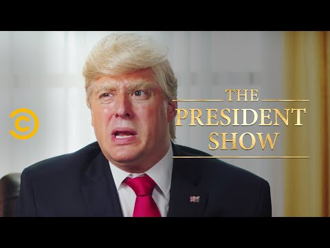Hot Mic Outtakes - The President Show - Comedy Central