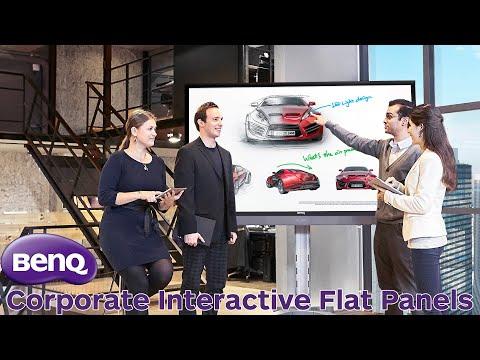 BenQ Corporate Interactive Flat Panel Displays