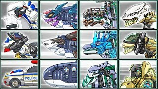Dino Robot Corps Deluxe #7: T-Rex Cops & Dinosaurs | Eftsei Gaming