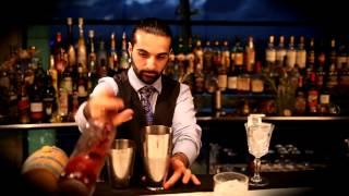 Luca Cinalli at City Space bar Masterclass.