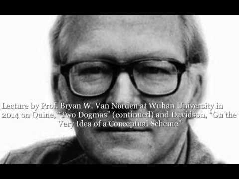 "Van Norden, Lecture on Davidson, ""On the Very Idea of a Conceptual Scheme"" SD 480p"