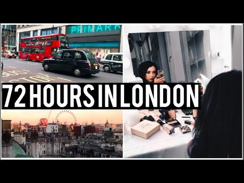 72 HOURS IN LONDON With Burberry // Travel Vlog