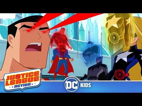 Justice League Action em Português  Supertroca  DC Kids