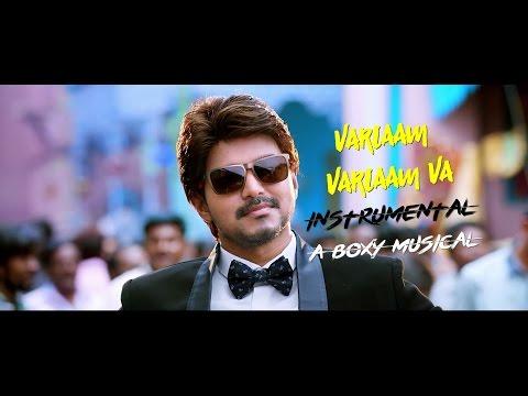 Bairavaa Songs | Varlaam Varlaam Vaa Karaoke Video Song | Vijay, Keerthy Suresh | Andre nel Boxy