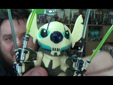 Star Tours: Stitch as General Grievous Action Figure Disney Parks Exclusive Unboxing Review