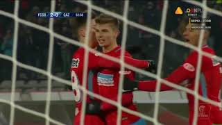 FCSB - Gaz Metan 2-0 Tanase dubleaza avantajul gazdelor!  Liga 1 Etapa 17