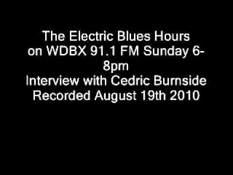 Interview with Cedric Burnside 8-19-2010