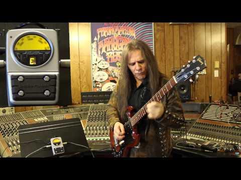 "Frank Marino demos the ""Peterson Stomp Classic"" tuner"