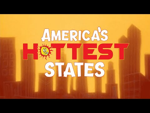 The 10 Absolutely HOTTEST STATES In The USA