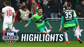 Watch highlights between werder bremen and fc augsburg.#foxsoccer #bundesliga #werder #augsburg subscribe to get the latest fox soccer content: http://foxs.p...