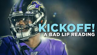 A Bad Lip Reading | NFL Kickoff 2020